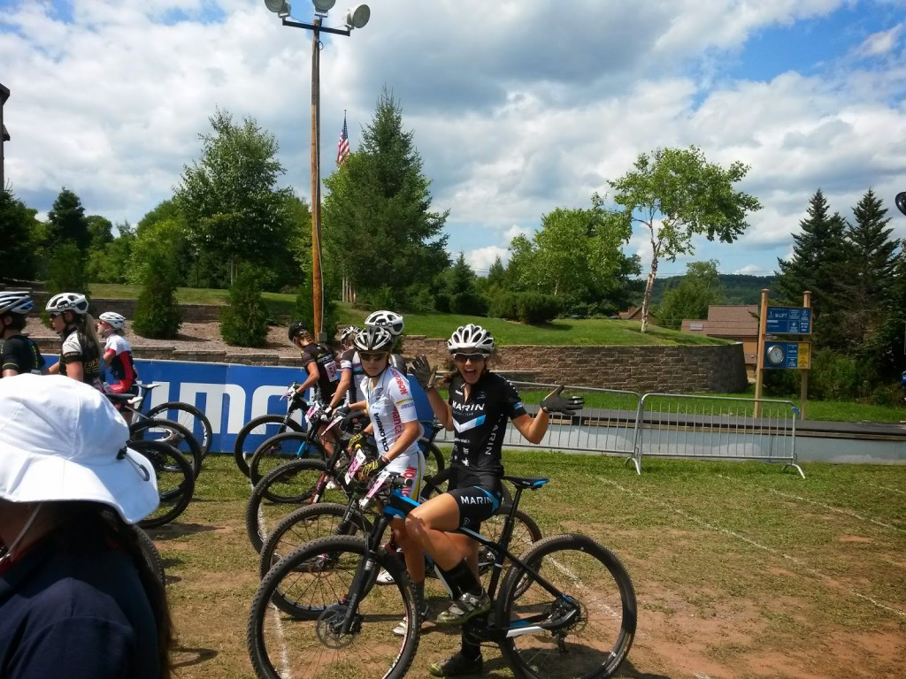 Connors at the start of the Windham World Cup in New York.