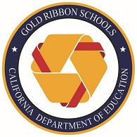 Gold Ribbon Logo Official Round