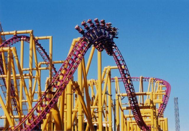 Six Flags Magic Mountain, California -X2