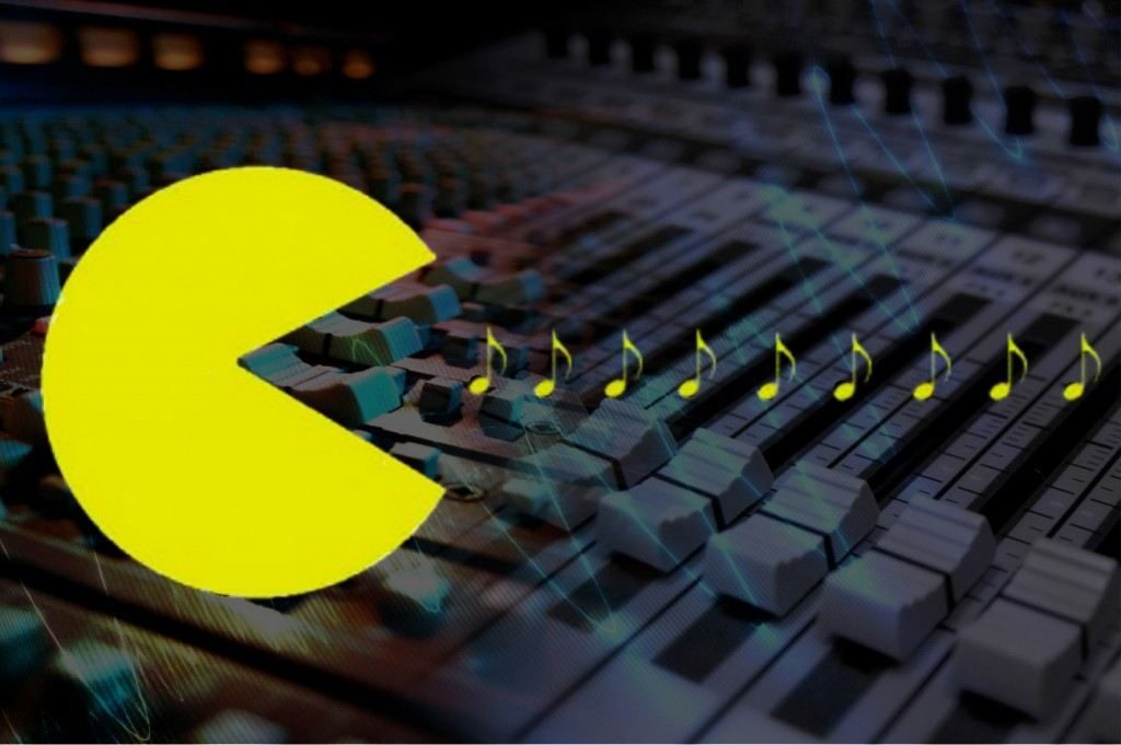 Pacman eating music